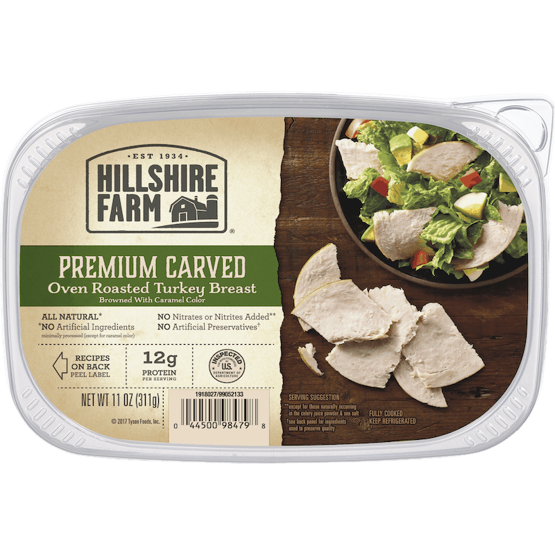 $1.00 for Hillshire Farm Premium Carved Deli Meat (expiring on Sunday, 08/02/2020). Offer available at Walmart.