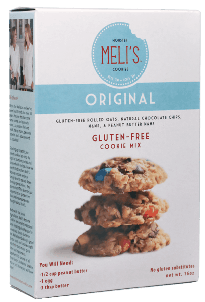 $1.00 for Meli's™ Monster Cookie Mix (expiring on Wednesday, 07/04/2018). Offer available at Walmart, H-E-B, United Supermarkets, Market Street.