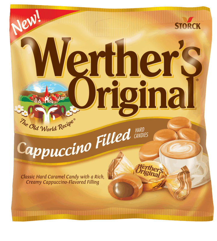 $0.50 for Werther's Original Cappuccino Filled Caramel Hard Candies. Offer available at Walmart.