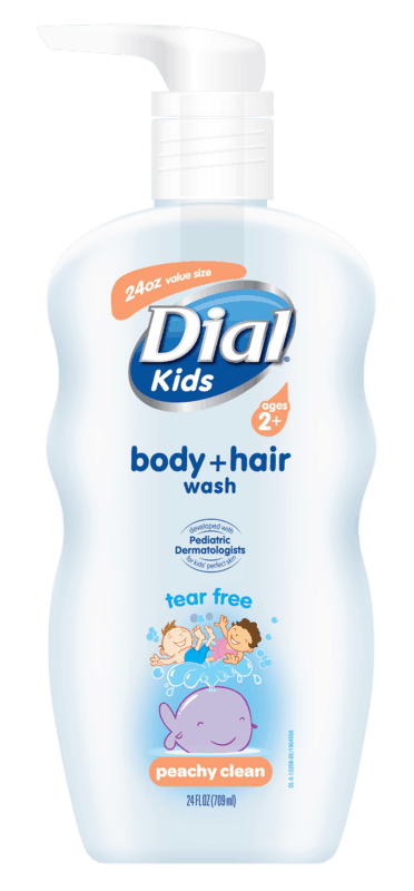 $1.50 for Dial® Kids Body + Hair Wash (expiring on Sunday, 02/02/2020). Offer available at Walmart.