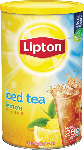 $1.50 for Lipton® Powdered Iced Tea Mix. Offer available at Walmart.