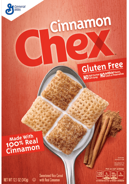 $0.50 for Chex™ Flavored Cereal (expiring on Monday, 04/02/2018). Offer available at Walmart.
