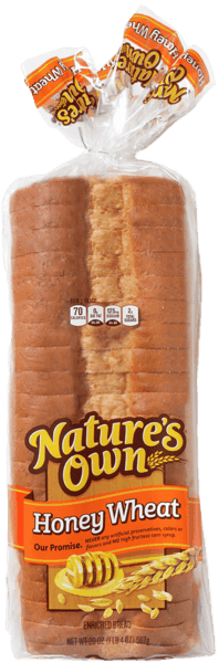 $0.50 for Nature's Own® Bread and Buns. Offer available at Meijer.