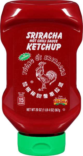 $0.70 for Sriracha Hot Chili Sauce Ketchup (expiring on Thursday, 05/02/2019). Offer available at multiple stores.