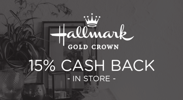 $0.00 for Hallmark Gold Crown (expiring on Monday, 11/19/2018). Offer available at Hallmark Gold Crown.