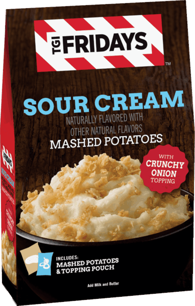 $1.50 for TGI Fridays™ Mashed Potatoes (expiring on Monday, 04/02/2018). Offer available at Walmart.