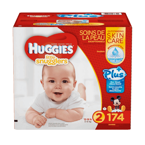 $8.00 for Huggies® Diapers (expiring on Sunday, 04/02/2017). Offer available at Costco.