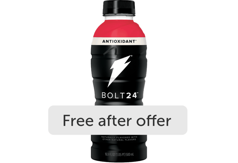 $1.28 for BOLT24. Offer available at Walmart, Walmart Pickup & Delivery.