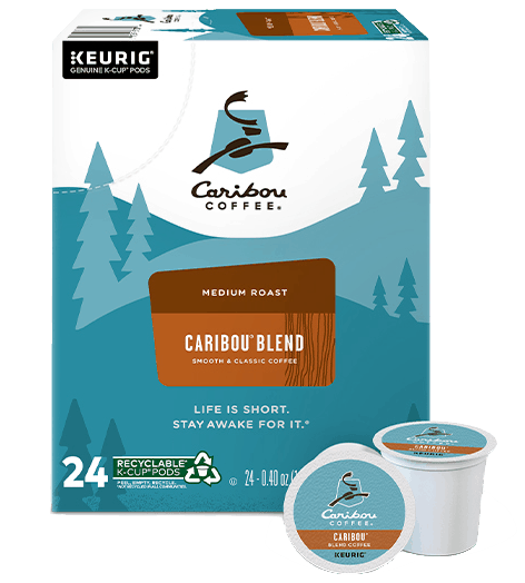 $1.50 for Caribou Coffee Caribou Blend K-Cup Pods (expiring on Wednesday, 11/25/2020). Offer available at multiple stores.