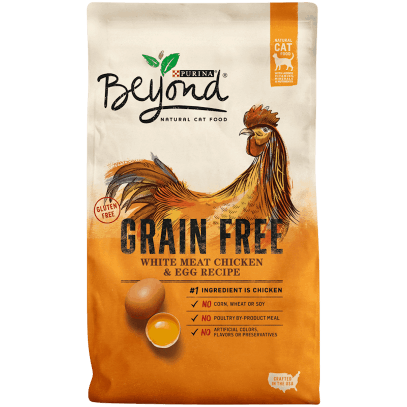 $2.00 for Purina® Beyond® Dry Cat Food (expiring on Wednesday, 10/02/2019). Offer available at multiple stores.
