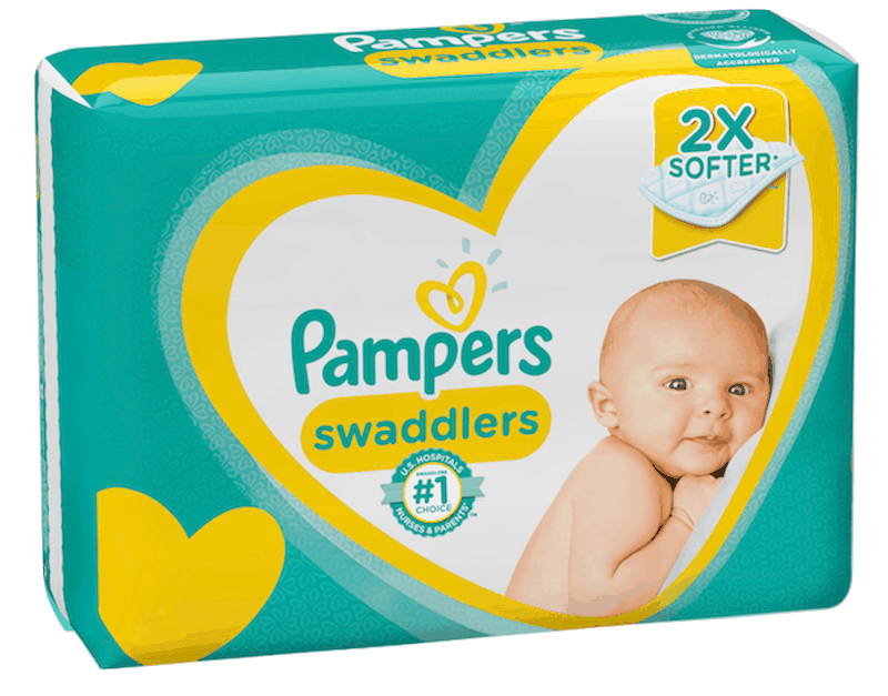 $3.00 for Pampers® Swaddlers Diapers. Offer available at multiple stores.