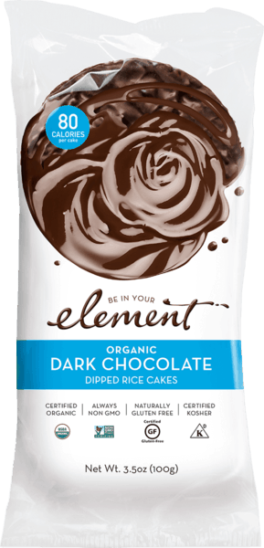 $1.00 for Element® Dipped Rice Cakes (expiring on Saturday, 10/31/2020). Offer available at Safeway.