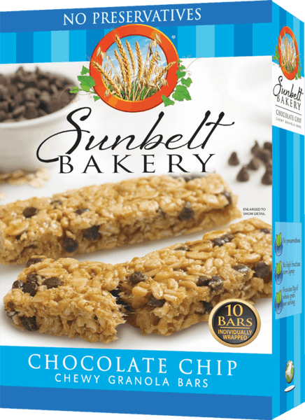 $0.50 for Sunbelt® Bakery Chewy Granola Bars (expiring on Sunday, 11/10/2019). Offer available at multiple stores.