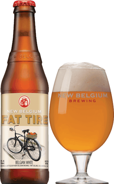 $1.00 for New Belgium® Fat Tire Belgian White (expiring on Wednesday, 09/05/2018). Offer available at Any Restaurant, Any Bar.