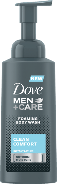$1.00 for Dove Men+Care Foaming Body Wash (expiring on Monday, 10/01/2018). Offer available at Walmart.