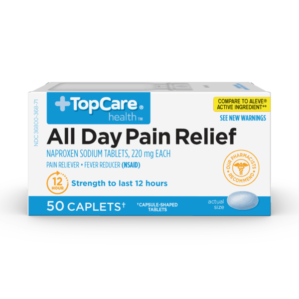 $1.00 for All Day Pain Relief (expiring on Sunday, 06/02/2019). Offer available at multiple stores.
