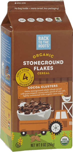 $1.50 for Back to the Roots® Organic Stoneground Flakes Cereal (expiring on Thursday, 03/09/2017). Offer available at multiple stores.