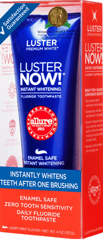 1 00 For Luster Instant Whitening Toothpaste Offer Available At
