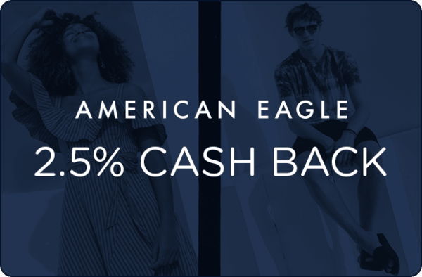 $0.00 for American Eagle (expiring on Thursday, 06/28/2018). Offer available at AmericanEagle.com.