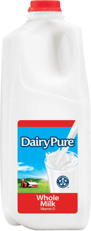 $0.50 for DairyPure® Milk (expiring on Saturday, 12/14/2019). Offer available at Walmart.