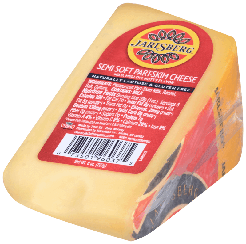 $1.40 for Jarlsberg® Snacks, Wedge, and Slices. Offer available at multiple stores.