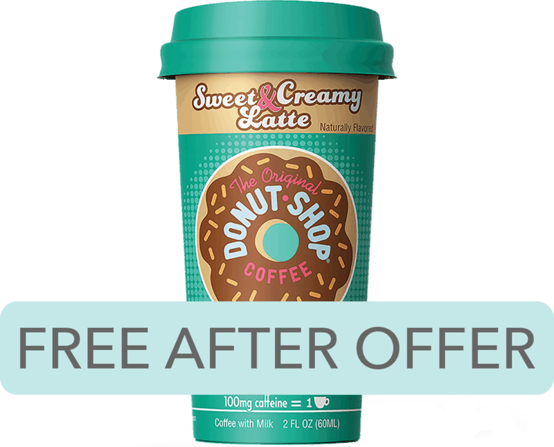 $1.98 for FORTO® Coffee Shots (expiring on Monday, 12/02/2019). Offer available at Walmart.
