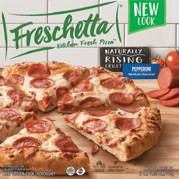 $1.00 for Freschetta® Frozen Pizza. Offer available at multiple stores.
