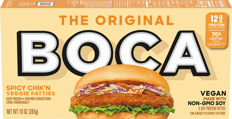 $1.00 for BOCA Chik'n Patties (expiring on Sunday, 08/02/2020). Offer available at Whole Foods Market®, Sprouts Farmers Market.