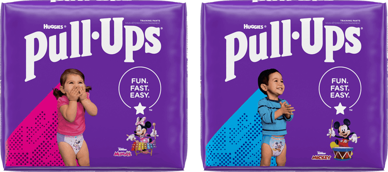 $1.00 for Huggies Pull-Ups Training Pants (expiring on Tuesday, 08/10/2021). Offer available at multiple stores.