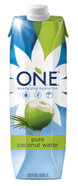 $1.00 for O.N.E.™ Pure Coconut Water (expiring on Saturday, 03/02/2019). Offer available at multiple stores.