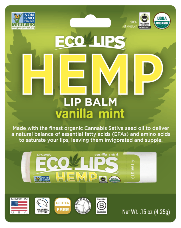 $0.50 for Eco Lips Lip Balm (expiring on Sunday, 06/14/2020). Offer available at Walmart, Walmart Grocery.