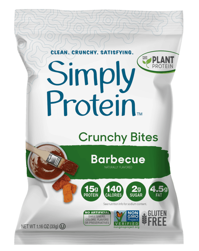 $0.50 for SimplyProtein Crunchy Bites (expiring on Sunday, 08/02/2020). Offer available at multiple stores.