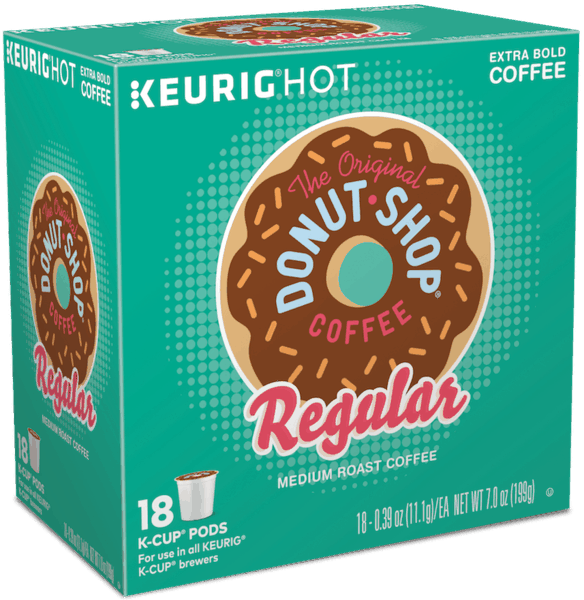 $0.50 for The Original Donut Shop® Coffee K-Cup® Pod (expiring on Monday, 04/02/2018). Offer available at multiple stores.
