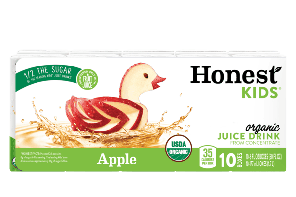 image relating to Honest Company Printable Coupon titled $1.00 for Genuine Kids® Natural and organic Juice Consume. Give readily available