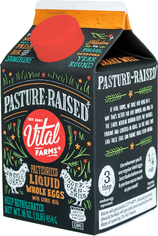$2.00 for Vital Farms Pasture-Raised Liquid Whole Eggs (expiring on Sunday, 08/02/2020). Offer available at Whole Foods Market®.