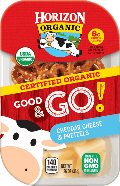 $1.00 for Horizon Organic® Good & Go!. Offer available at multiple stores.