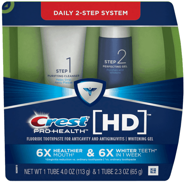 $0.25 for Crest® Daily Two-Step Toothpaste System (expiring on Saturday, 09/30/2017). Offer available at multiple stores.