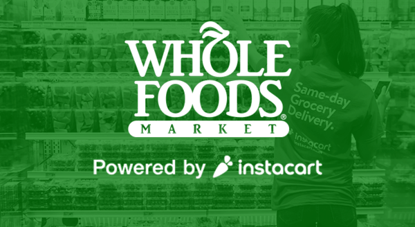 $0.00 for Instacart (expiring on Wednesday, 07/03/2019). Offer available at Instacart.