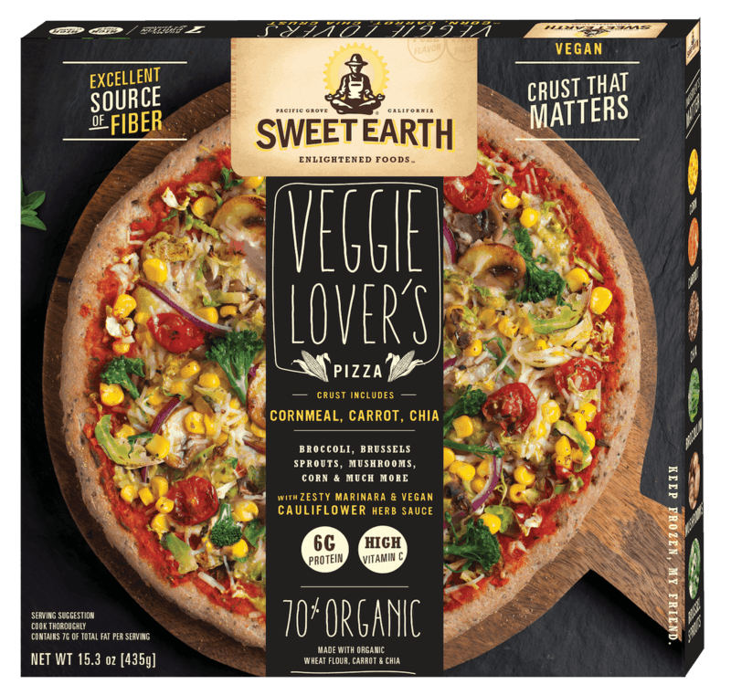 $2.00 for Sweet Earth Foods Pizza. Offer available at multiple stores.