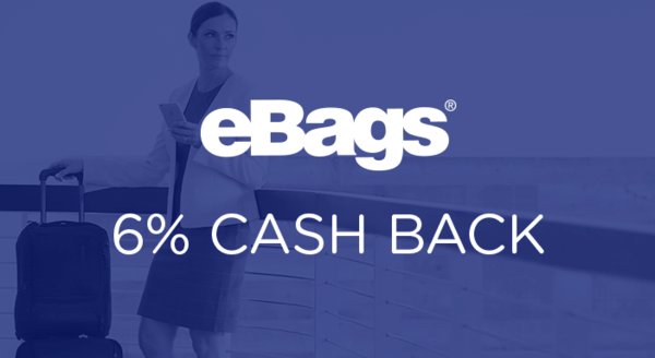 $0.00 for eBags (expiring on Tuesday, 12/31/2019). Offer available at eBags.