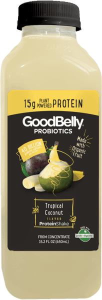 $0.50 for GoodBelly® Probiotics Protein Shake (expiring on Saturday, 10/06/2018). Offer available at multiple stores.