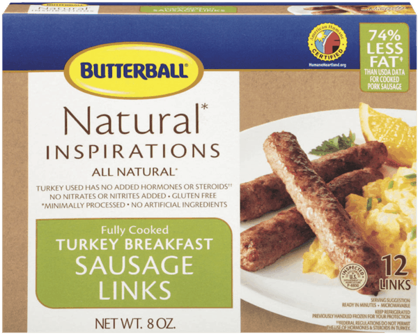 $0.75 for Butterball® Turkey Breakfast Sausage Links (expiring on Thursday, 08/02/2018). Offer available at multiple stores.