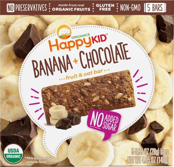 $1.50 for Happy Kid™ Fruit & Oat Bars (expiring on Sunday, 09/02/2018). Offer available at ShopRite, Babies R Us, Sprouts Farmers Market, PriceRite, Buy Buy Baby.