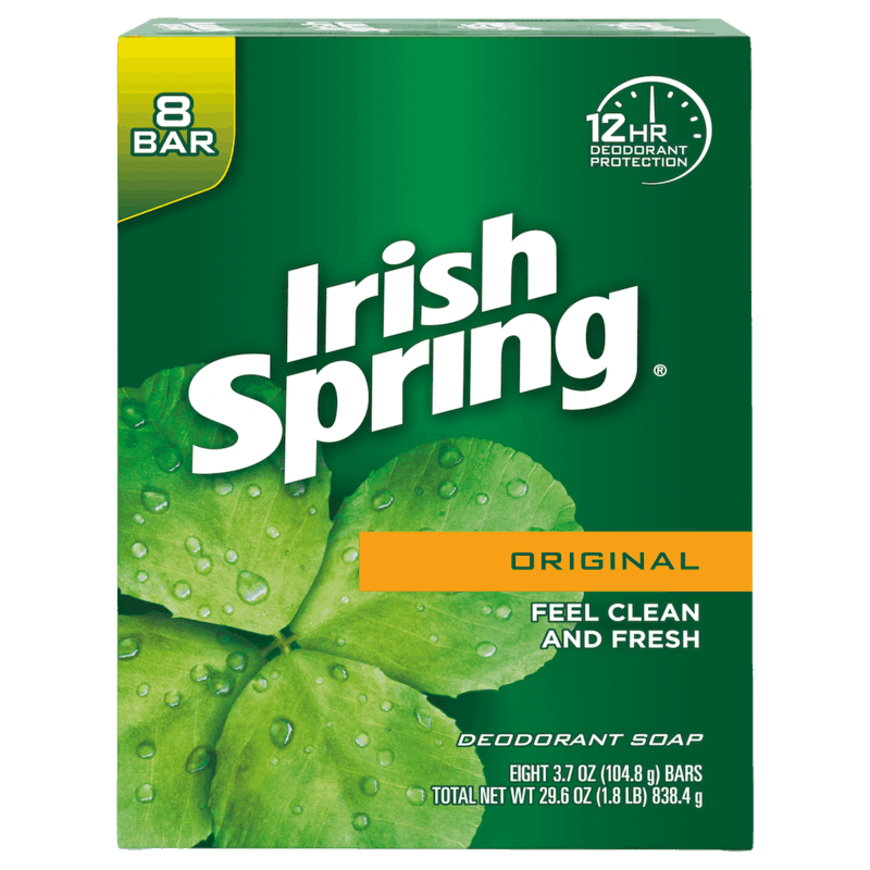 $1.00 for Irish Spring® Bar Soap. Offer available at Walmart.