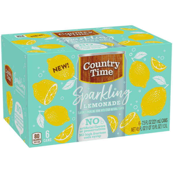 $0.75 for Country Time Sparkling Lemonade (expiring on Tuesday, 04/02/2019). Offer available at multiple stores.