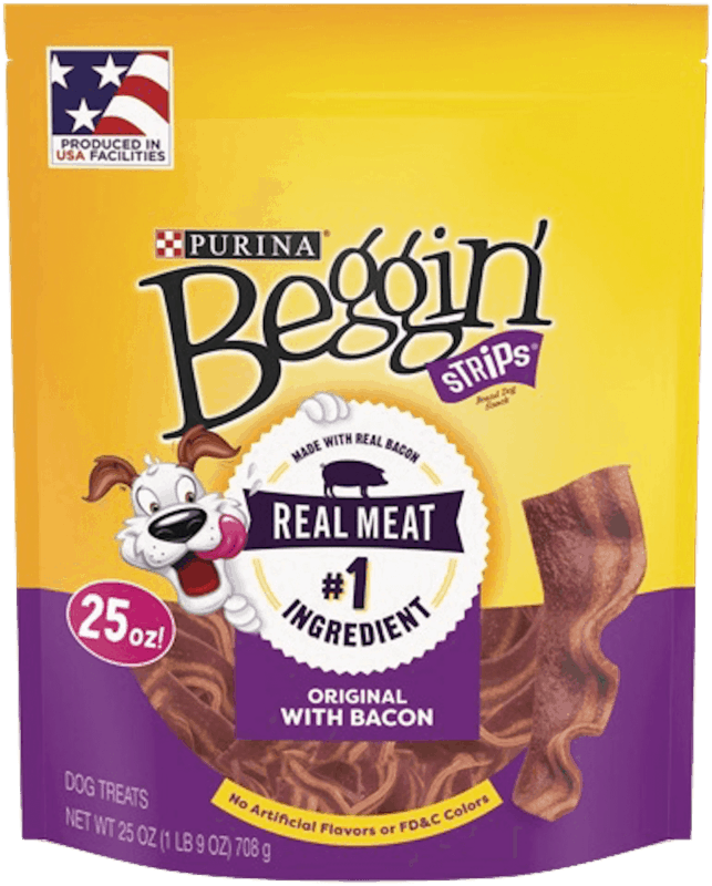 $0.75 for Beggin' Strips® Dog Treats (expiring on Wednesday, 10/02/2019). Offer available at multiple stores.