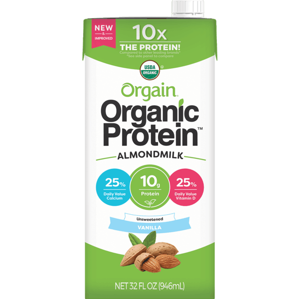 $1.50 for Orgain® Organic Protein™ Almond Milk (expiring on Tuesday, 10/01/2019). Offer available at multiple stores.