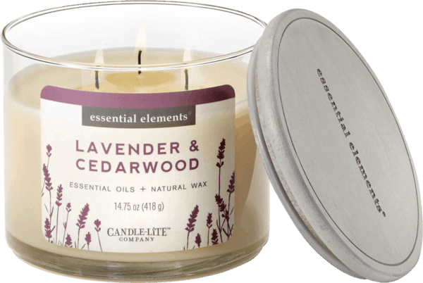 $1.00 for Candle-Lite® Essential Elements 3 Wick Candles (expiring on Sunday, 06/02/2019). Offer available at multiple stores.