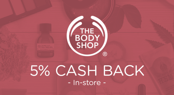 $0.00 for The Body Shop (expiring on Sunday, 11/25/2018). Offer available at The Body Shop.