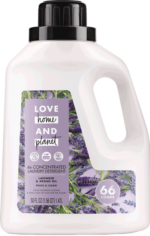 $4.00 for Love Home and Planet™ Laundry Detergent (expiring on Saturday, 05/02/2020). Offer available at Meijer, Harris Teeter.